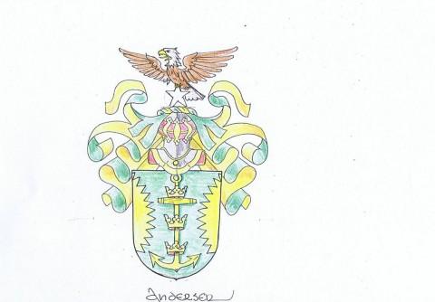 familiewapen ontwerp Andersen