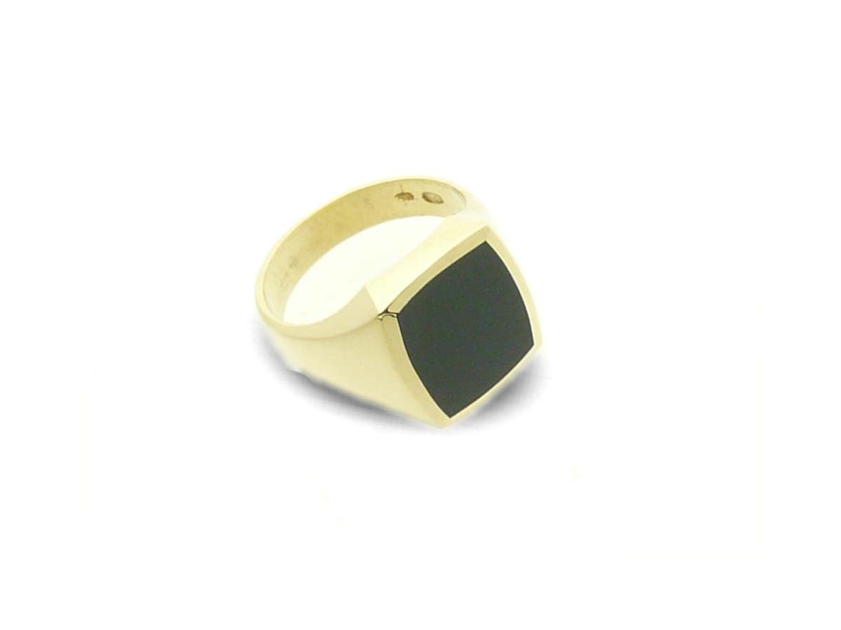signet ring gold classic tonneaux