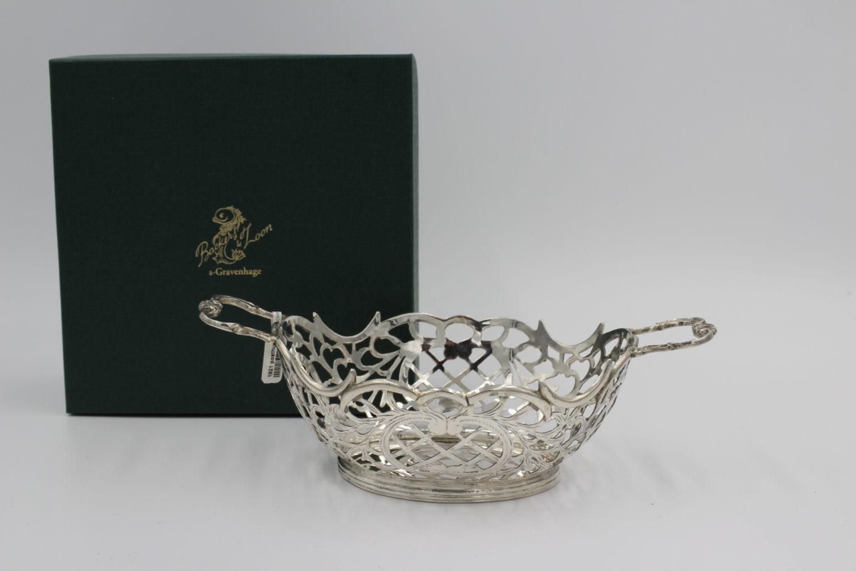 Zilveren bonbonmandje Anno 1921