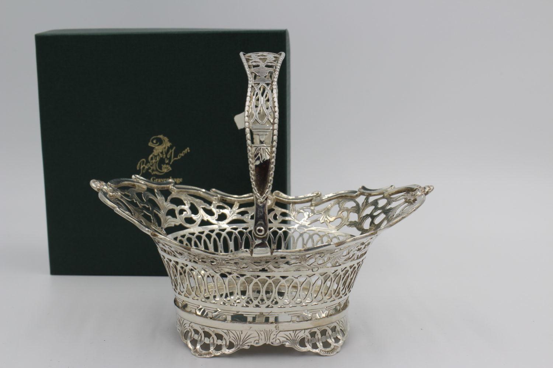 zilveren hengselmandje