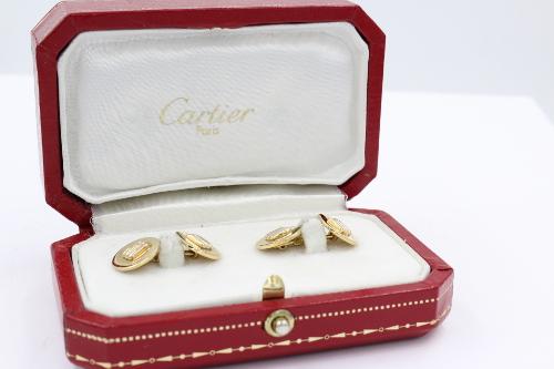 Manchetknopen Cartier