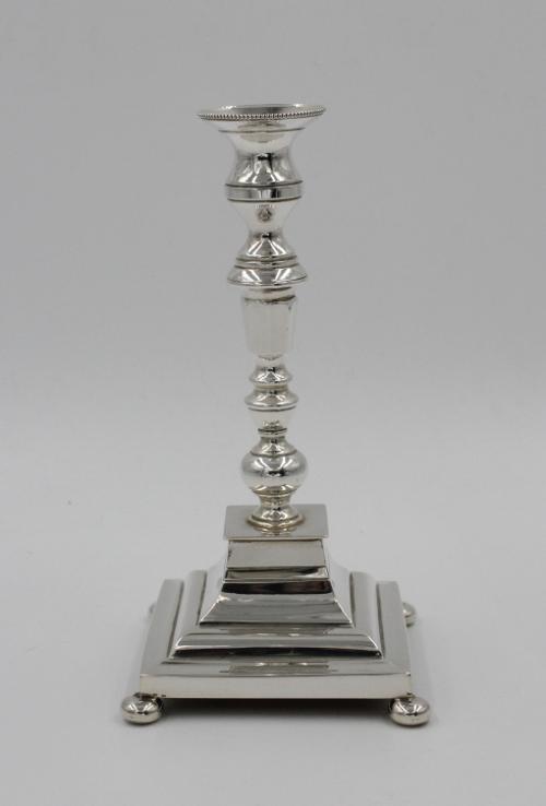 Zilveren kandelaar 1 e gehalte zilver