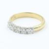 bi-colour alliance ring met 0.60 ct briljant
