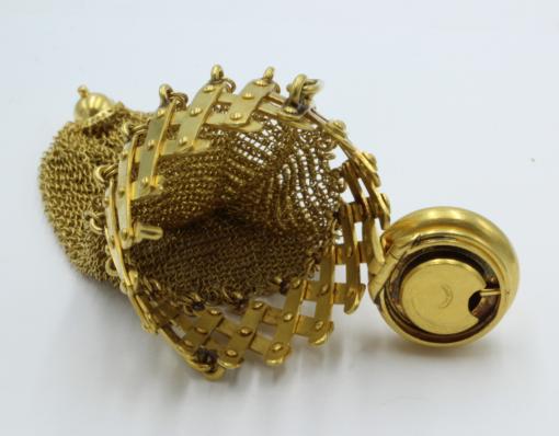 18 karaats gouden geld buidel